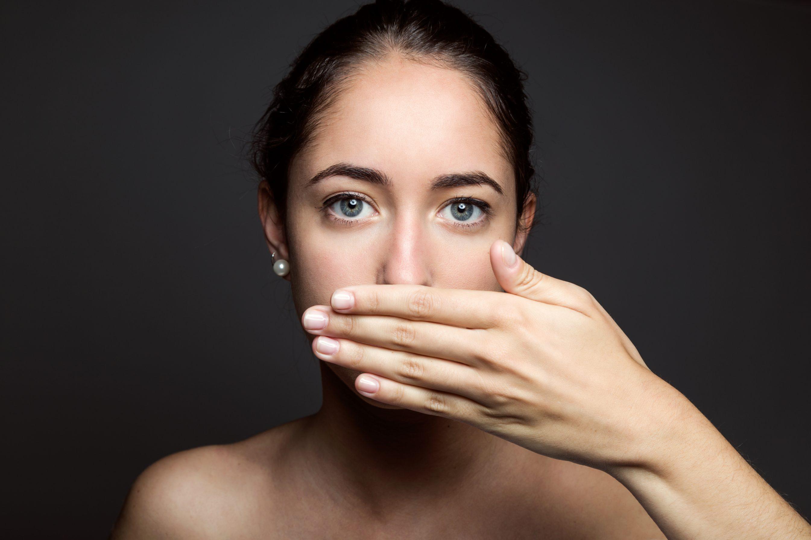 Mal aliento o halitosis. Problemas de salud bucodental